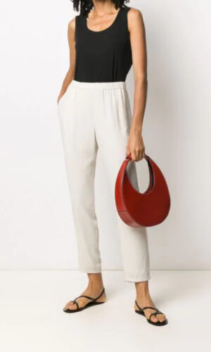 EILEEN FISHER System slouchy cropped trousers
