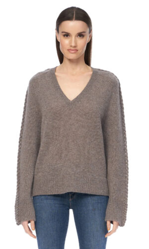 360 CASHMERE Kandice knit in Porcupine