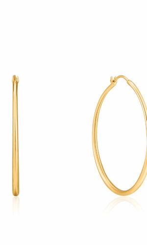ANIA HAIE Gold Luxe Hoop Earrings