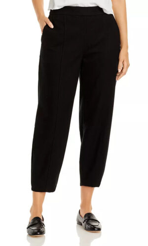 EILEEN FISHER Soft Wool Flannel Lantern Pant