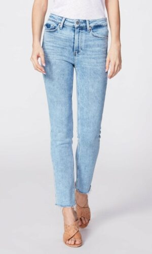PAIGE HOXTON SLIM WITH RAW HEM - MARISKA
