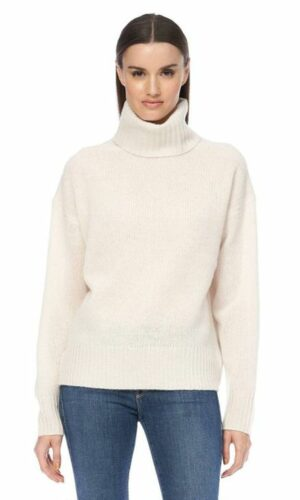 360 CASHMERE Maybel Knit in Chalk