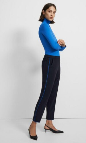 THEORY Treeca Pull-On Pant in Crepe