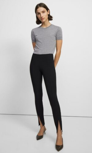 Theory Slit Legging in Scuba