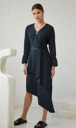 CHARLI Hope dress - slate