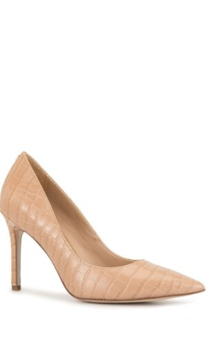 Sam Edelman Hazel Pointed Toe Leather Heels