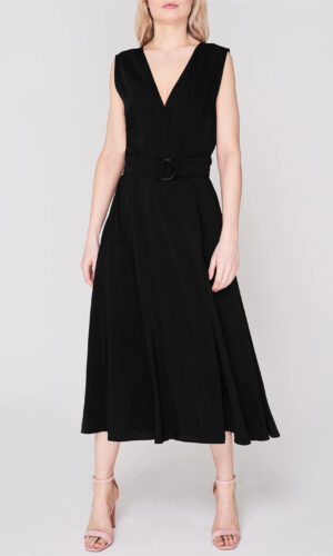 SPORTMAX CODE BELTED DRESS