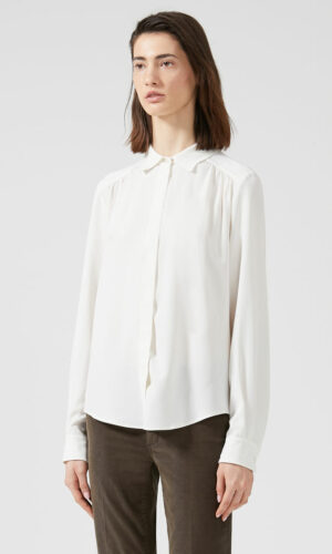 SPORTMAX CODE Streamlined Crepe Shirt