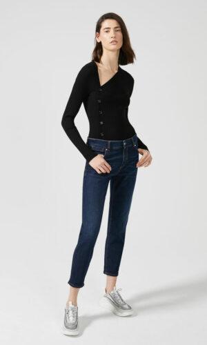 SPORTMAX CODE Low-rise Cigarette Jeans