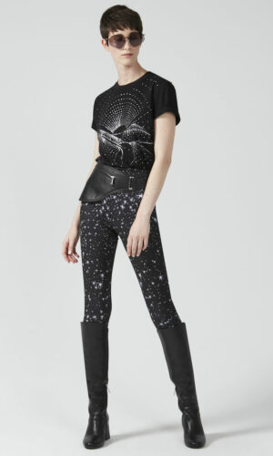 SPORTMAX CODE Star Print Leggings