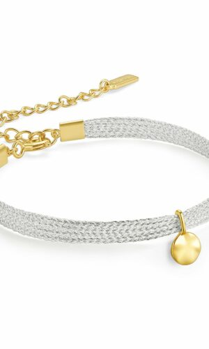 ANIA HAIE Gold Ripple Ribbon Bracelet