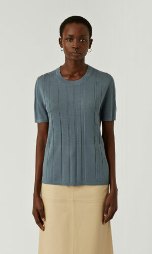 JOSEPH Fine Merinos Short Sleeved Top