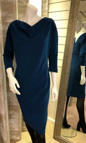 ROISIN LINNANE Mae V Neck Back Detail Dress
