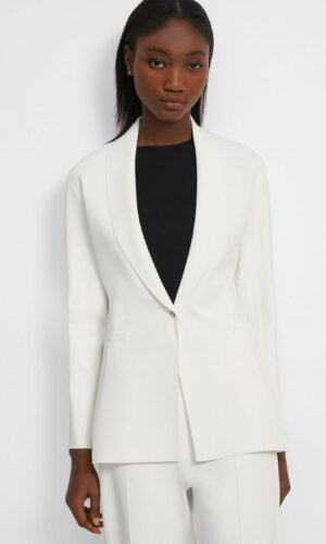 THEORY Etiennette Blazer in Stretch Knit