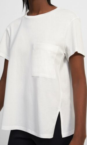 THEORY A-Line Tee in Cotton