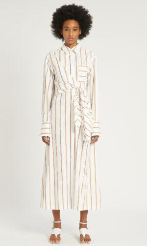 SPORTMAX Cotton poplin dress