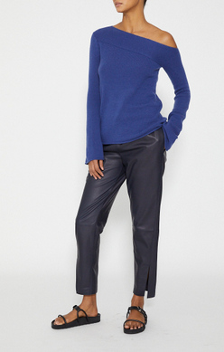THEORY Asymmetrical Pullover in Cashmere