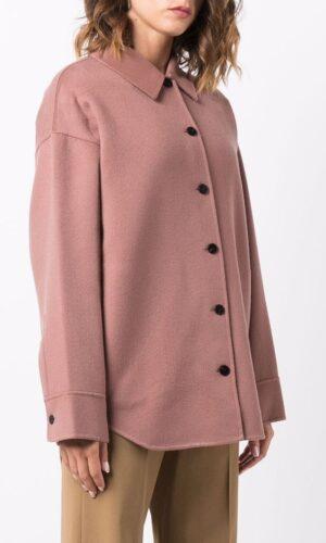 THEORY button-down shirt jacket