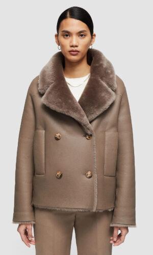 JOSEPH Sheepskin Calla Coat