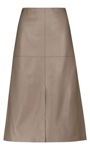 JOSEPH Nappa Leather Sidena Skirt.