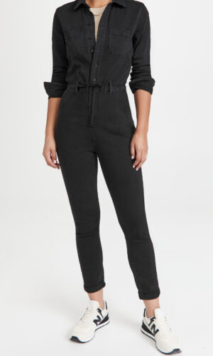PAIGE Christy Long Sleeve Jumpsuit